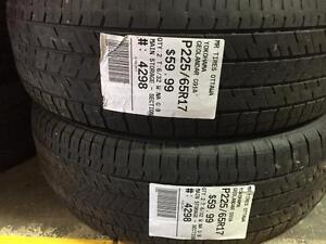 225/65/17 Yokohama Geolander G91A allseasons tires