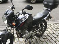 Yamaha YBR125 2013, 13037 miles.