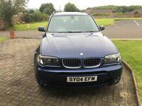 BMW X3 4x4 2.5i manual E83 Sport Aerodynamic Kit only 81K miles
