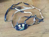 Leather Baby Harness/Walking Reins