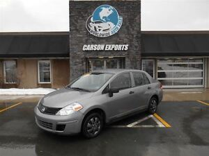 2009 Nissan Versa 1.6S! AS TRADED WITH MVI! FINANCING AVAILABLE!