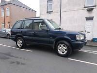 Diesel Automatic Land Rover RANGE ROVER P38 model with tow bar & long MOT px options available