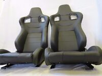 Brand New Universal Fitting Racing Car Bucket Seats Vauxhall Porsche Audi Ford Honda VW Golf