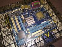 Gigabyte GA-G31M-ES2L motherboard and Intel Q6700 CPU
