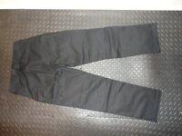 Mens black tactical trousers