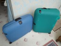 Pair of Carlton Suitcases.
