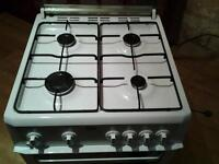 1 year old beko gas freestanding cooker/double oven
