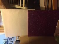 Two Glitter 20x20 Inches Canvases