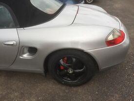 Porsche boxster 2.5 1998 in arctic silver SWAP for a trike or kitcar or classic or £3750
