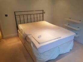 Silent night double bed divan