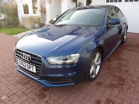 AUDI A4 2.00 TDI S LINE only £30 Road Tax