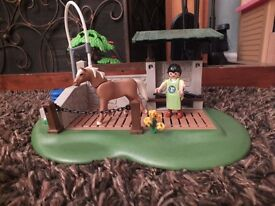 Playmobil Pony Care Station