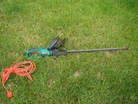 hedge trimmer qualcast 60 cm long