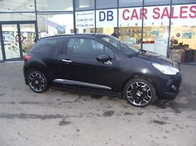 DIESEL !!! 2011 11 CITROEN DS3 1.6 E-HDI DSTYLE 3D 90 BHP **** GUARANTEED FINANCE **** PART EX WELOM