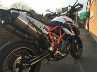 KTM 990 SMR. Excellent condition. Akrapovics, re-flashed ECU. Quick Bike!