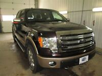 2013 Ford F-150 Larit with Chrome Pkg 4x4 S/Crew 145 in WB 5.0L