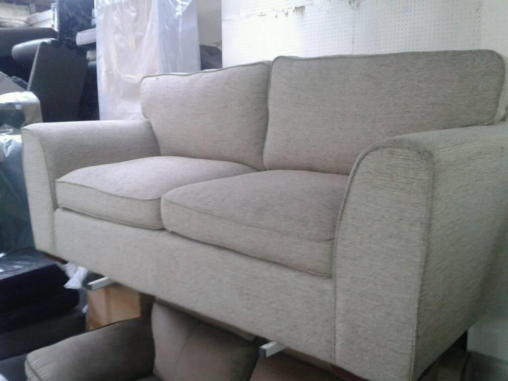 Ex display 3 seater sofa very good savings only £120