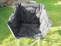 2 Kampa Tub Chairs – £25 for the pair / great for camping, caravan or picnics