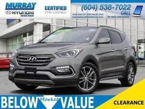 2017 Hyundai Santa Fe Sport 2.0T Limited**NAVI**REAR CAMERA**BLU