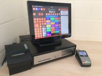 ★ Touchscreen Epos Pos Till for Restaurant, Pub, Bar, Takeaway, Retail Shop, Cafe, Hotel, Gym