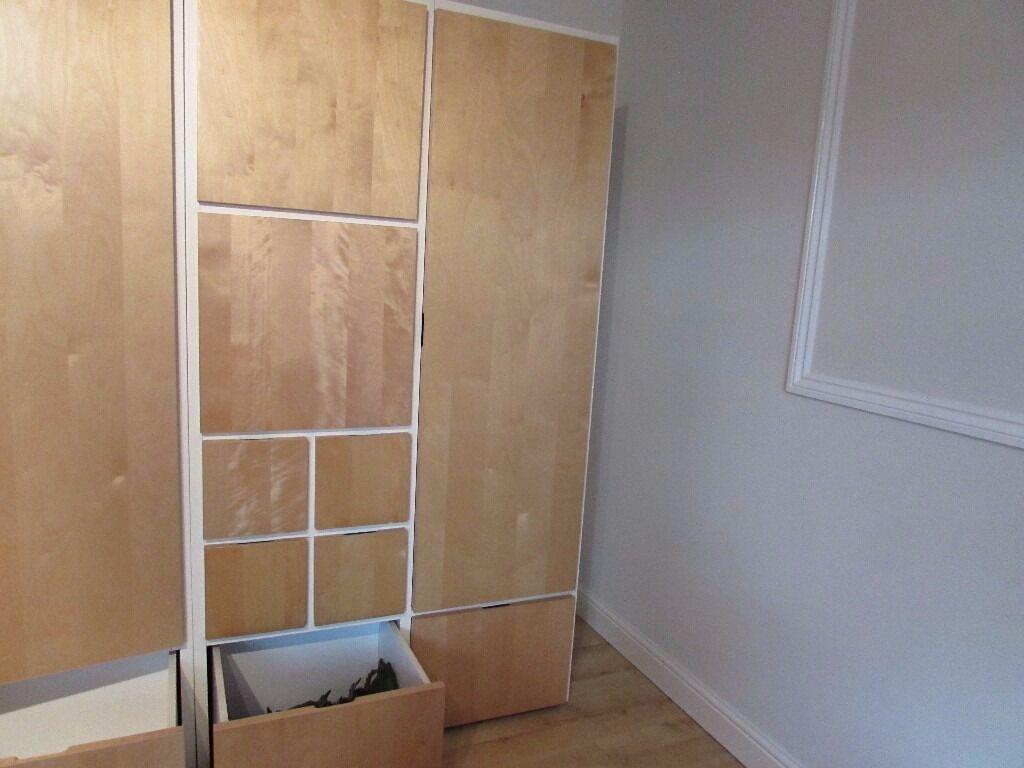 Ikea Wardrobe Storage Unit Ideal Childrens Bedroom