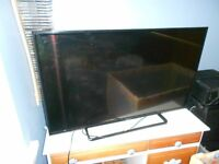 "A Panasonic TX 42A400B 38"" Television with Pedestal, Remote Control and Operating Instructions"