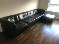 Real leather couch £500 ONO