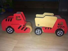 Wooden diggers