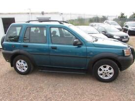 LAND ROVER FREELANDER 2.0 XE Di Station Wagon 5dr MOT MAY 2019 TRADE-IN TO CLEAR ALLOYS TOW BAR 2000