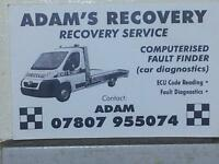 Vehicle Recovery Breakdown Local and National Car from £25 and Van 24 Hr Lowered cars.Luton bodies