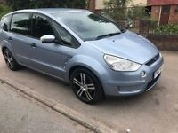 7 SEATER FORD S MAX 1.8 DIESEL MANUAL £1250 REDUCED TO GO NO P/X NO LAST PRICE 07404237708 NO TEXT