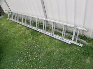 GREAT BAILEY KL12 ALUMINUM ROPE PULL EXTENTION LADDER 7 Meters H Bexley Rockdale Area Preview