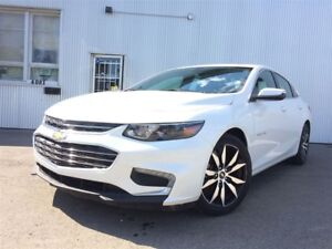 2017 Chevrolet Malibu LT, LEATHER, BACKUP CAM, NAV, SUNROOF.