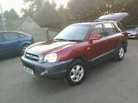 06 Hyundai Santa Fe Cdx Crtd2.0 Diesel Full leather trim ( can be viewed inside anytime)