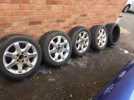 4 x SLK 230 wheels