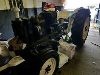 David Brown 780 tractor unfinished project