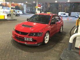 + EVO IX GT + RARE MODEL + MODIFIED * SHOW CAR +AP RACING BRAKES + EXEDY CLUTCH +400 BHP CUSCO CAGE