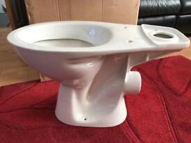 Toilet Pan with toilet seat