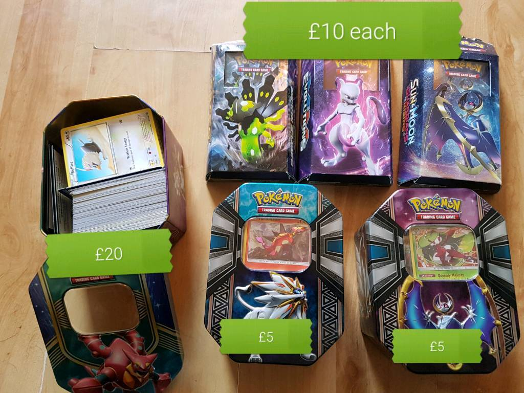 Various pokemon cards