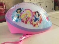 Child's bike cycle helmet Disney princess