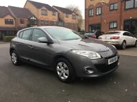RENAULT MEGANE 2011.LOW MILEAGE.FULL SERVICE HISTORY.CALL ON 07404220949