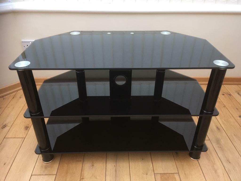 John Lewis Glass Tv Stand In Southport Merseyside Gumtree