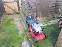 Patrol lawn mower
