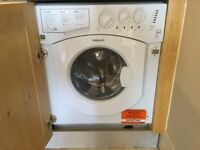 Hotpoint Integrated Washer/Dryer. Excellent condition. New this year. Used very little.