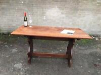 VINTAGE SOLID WOOD TABLE FREE DELIVERY 🇬🇧FARMHOUSE ENGLISH