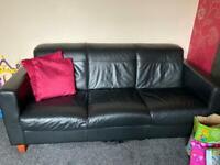Set of leather sofas