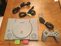 SONY PS1 and PS2