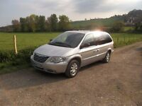 CHRYSLER GRAND VOYAGER LTD XS AUTO , 2007 ( FULLY LOADED STOW AND GO MODEL ) 7 SEATER