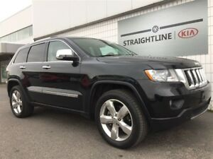 2013 Jeep GRAND CHEROKEE Overland *NAVIGATION, TOW PACKAGE*