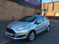 2015 Ford Fiesta z 1.2 petrol 5 door hatchback 12 month mot genuine low mileage